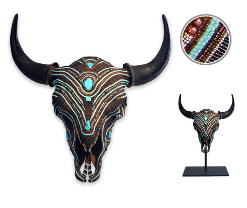 Chocolate Turquoise Buffalo